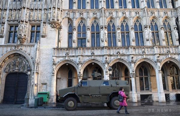 ベルギー首都、最高水準のテロ警戒1週間維持へ