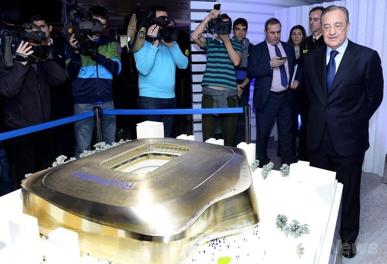 レアルが約550億円のサンチャゴ・ベルナベウ改修計画を発表