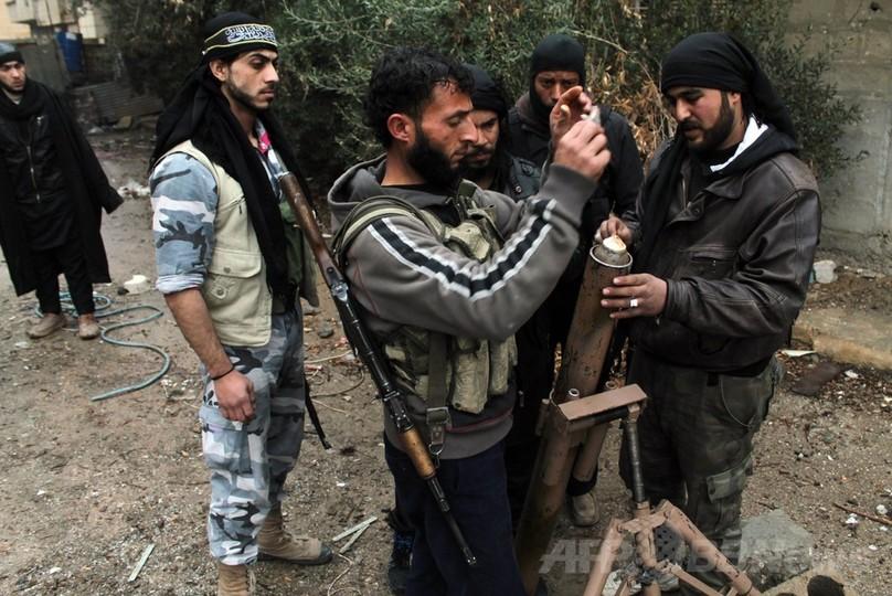 シリア内戦、反体制派3派が連合してISILと激しい戦闘