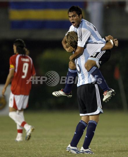 サッカー 07南米ユース選手権>...