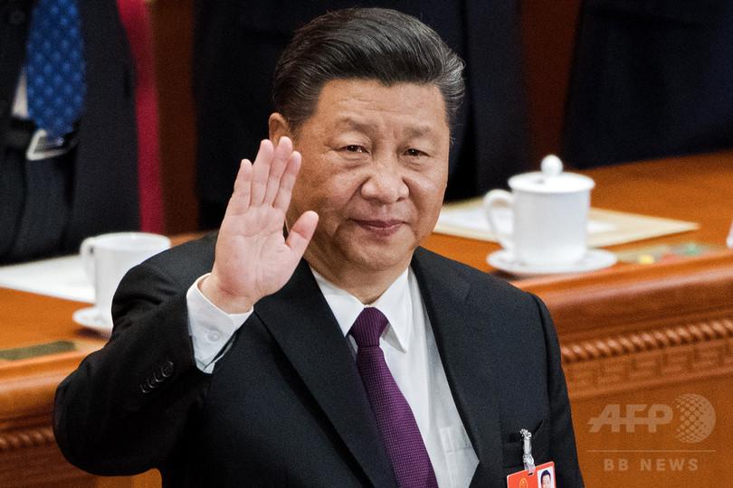 習国家主席を再選、副主席に右腕の王氏 中国