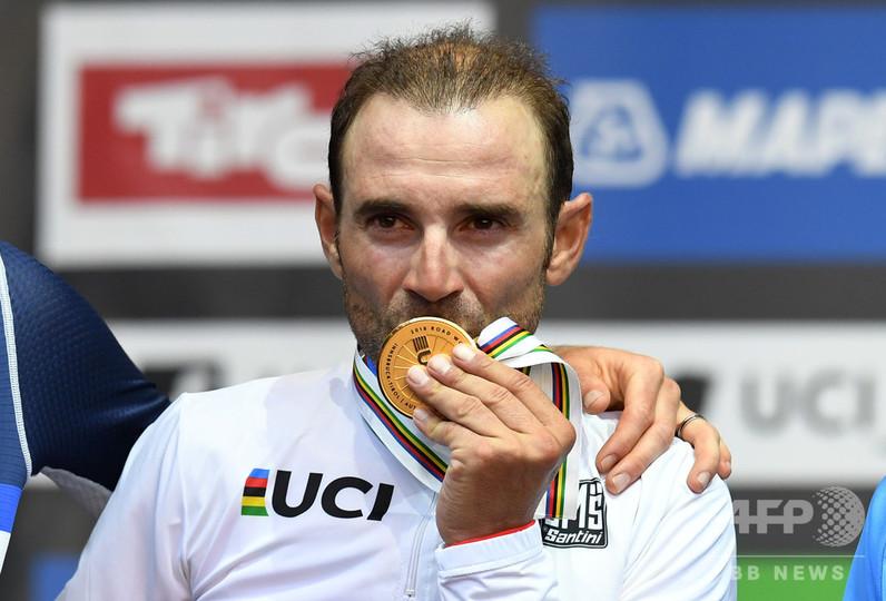 38歳バルベルデが悲願の初優勝、ロード世界選手権