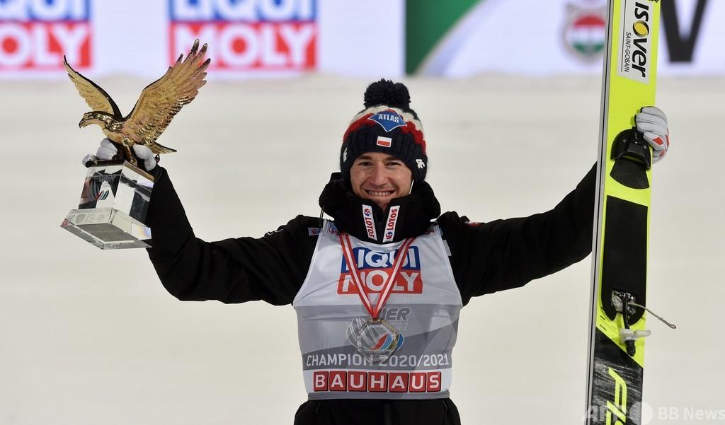 ストフが3度目のジャンプ週間総合優勝、小林陵侑は6位
