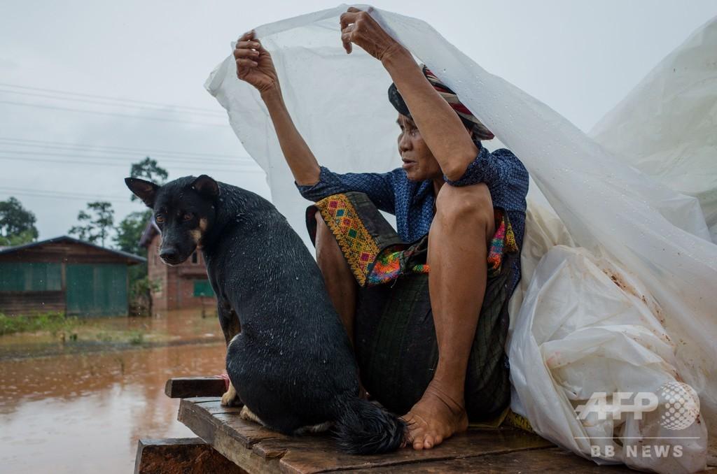 ラオスのダム決壊、27人の死亡確認 隣国カンボジアでも多数の避難者