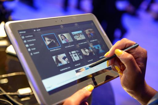 韓国サムスン、新タブレット「Galaxy Note 10.1」を発売