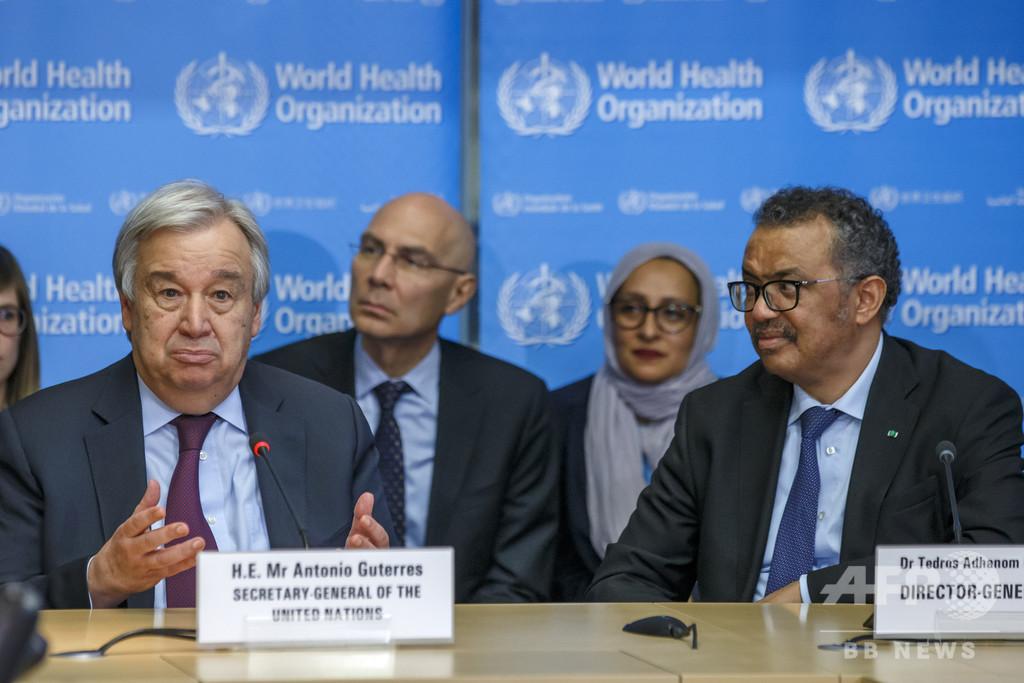 世界を「平常」に戻し得る唯一のツールは新型コロナワクチン、国連総長