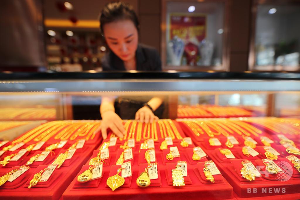 コロナ禍で中国の金消費量が大幅減 第2四半期は復調傾向