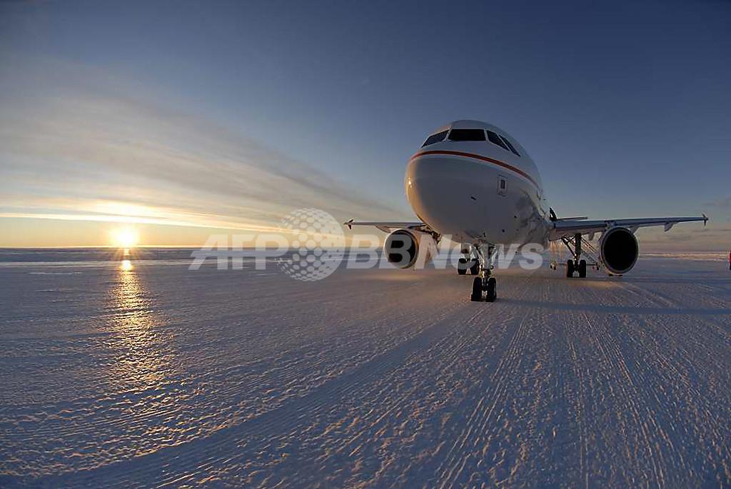 南極にオーストラリアの滑走路完成、研究所へのアクセスが容易に