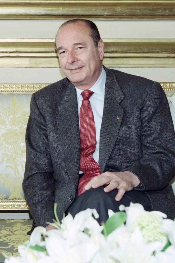 ジャック・シラク元仏大統領が死去、86歳
