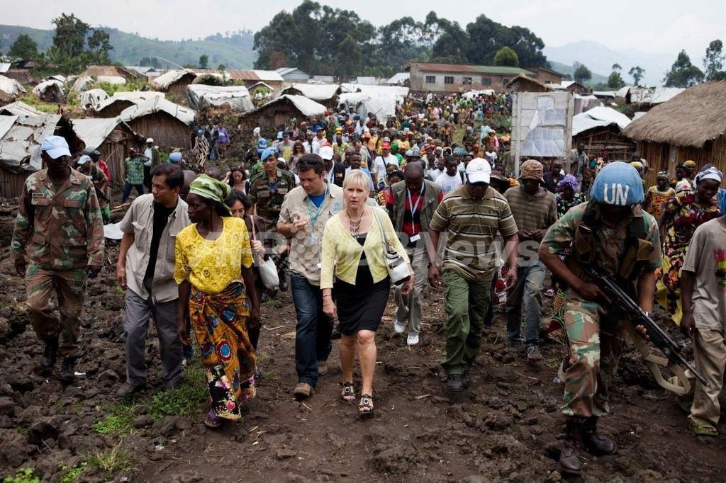 コンゴ民主共和国でまた集団レイプ、今度は国軍