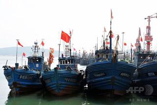 中国船、違法操業で高額罰金の可能性 ギニア