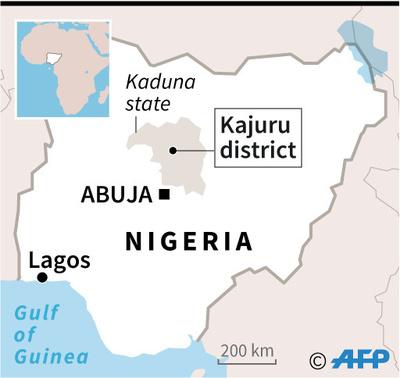 ナイジェリアで66人の遺体発見 民族・宗教対立続く地域