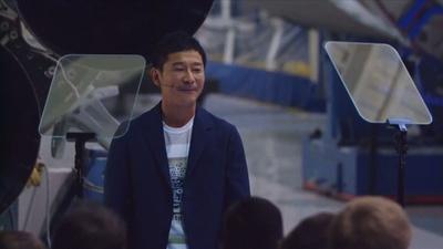 動画:スペースXの月旅行、初の乗客に「ゾゾ」前澤氏 アーティストを同乗に招待へ