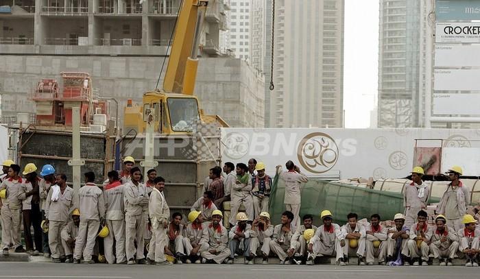 ドバイを席巻する外国人労働者、UAE政府が危機感