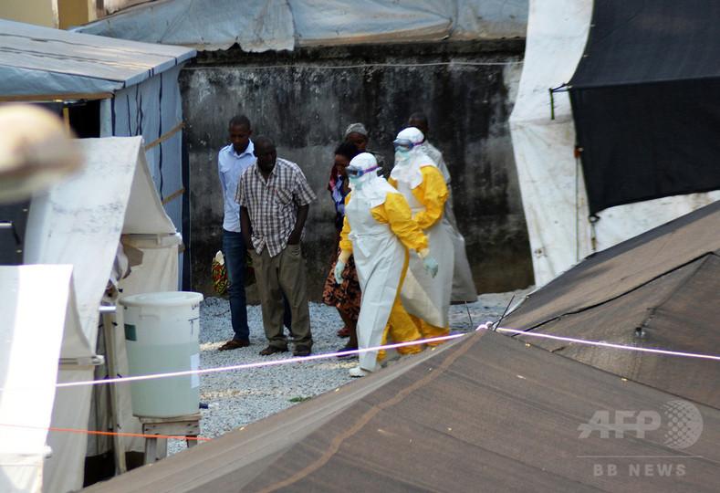 エボラ感染、「山火事」のように広がる 米当局が警告