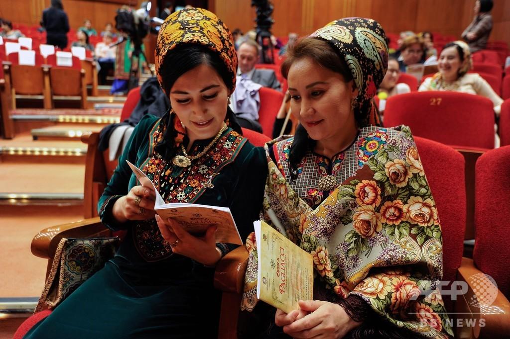独裁体制続くトルクメニスタン、禁止だったオペラが19年ぶりに上演