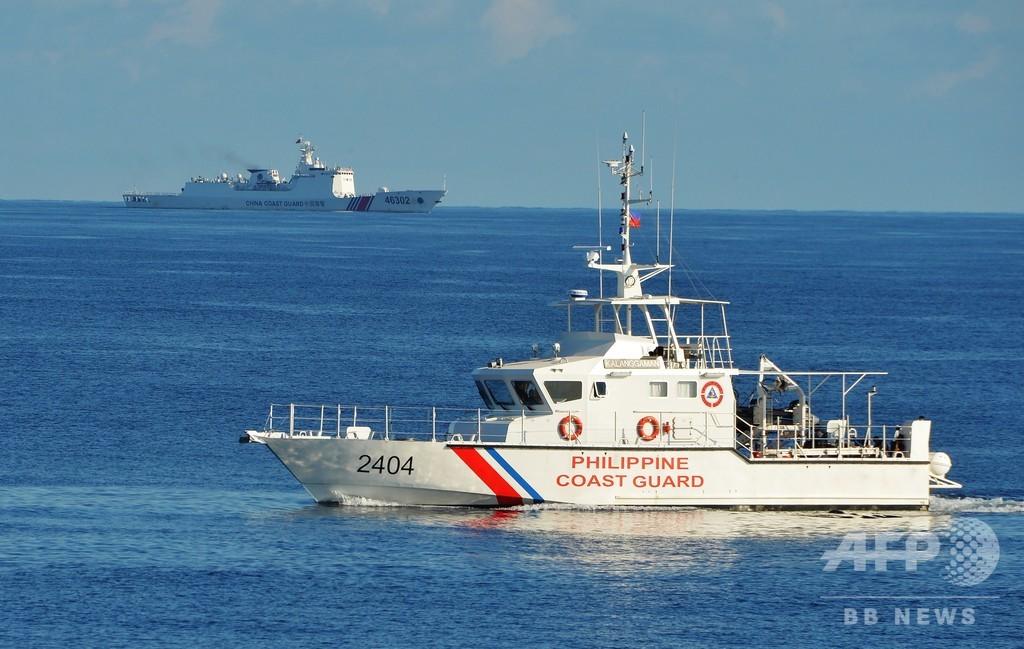 南シナ海での中国の資源探査は「違法」 ポンペオ米国務長官