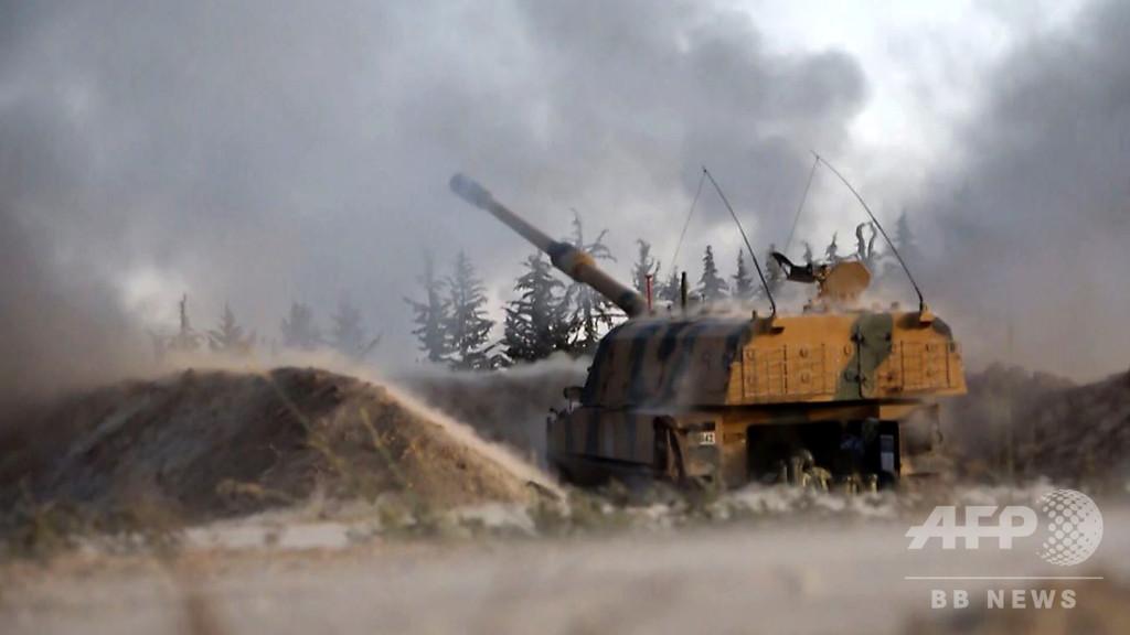 トルコ、シリアで軍事作戦を展開中と発表 ロシアとの衝突は望まず