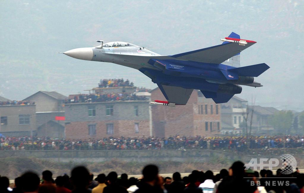 中国軍機が防空圏進入 台湾、「深刻な挑発」を批判