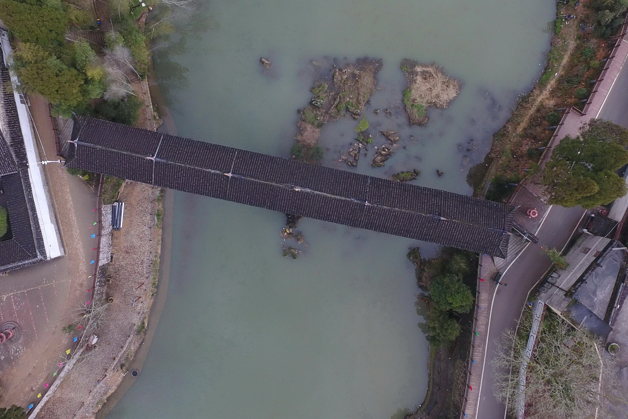 屋根付き橋「廊橋」 千年続く郷土文化の伝承