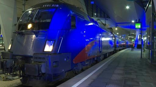 動画:オーストリアとベルギーを結ぶ夜行列車が復活、温暖化対策の好例として期待