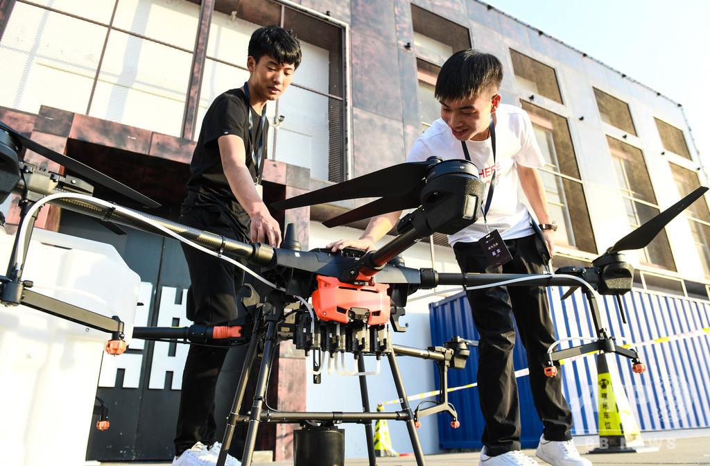 中国のドローン大手DJI、日本市場の開拓進む 独占状態を打破