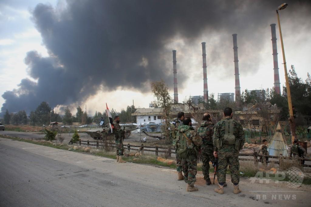 シリア政府、米露提示の停戦条件を受け入れ