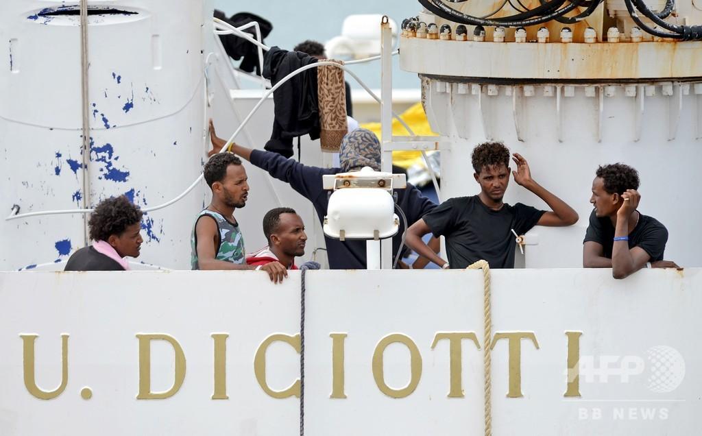 イタリア、EU拠出金減額を警告 移民受け入れ分担要求