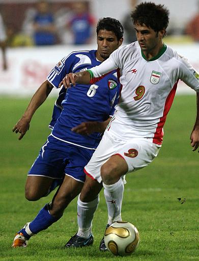 イラン アウェーでクウェートと引き分けに終わる