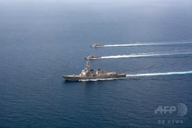 イエメン沖で米軍艦3隻にミサイル攻撃か、被害はなし