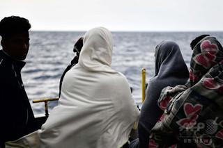 地中海の移民救助船で赤ちゃん誕生、「ミラクル」と命名