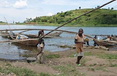 湖のメタンを電力源に、ルワンダでプロジェクト進行中