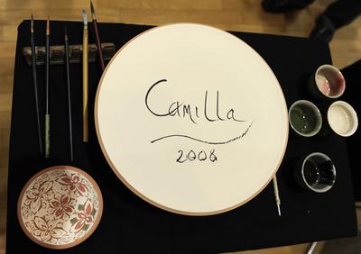 英皇太子夫妻、奈良やお台場の日本科学未来館を訪問