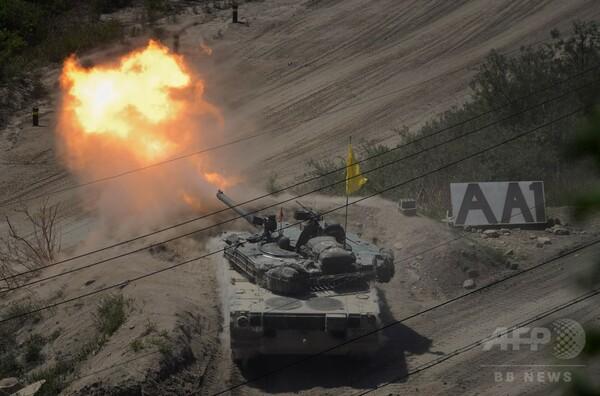 北朝鮮、韓国に砲撃 48時間以内のスピーカー撤去を要求