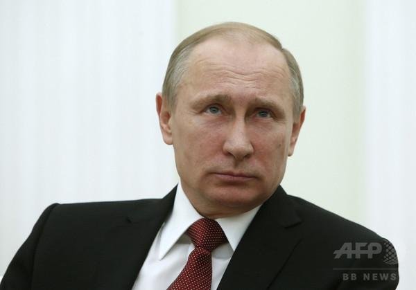 62歳プーチン氏に子どもが誕生? 報道官は否定