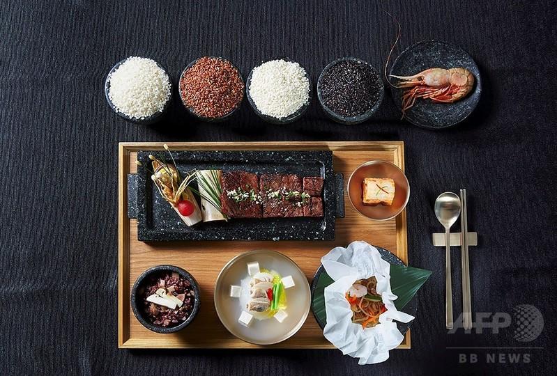 訪韓中のトランプ氏、夕食メニューが一部明らかに 竹島沖でとれたエビも