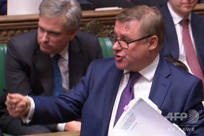英EU離脱案、12月11日に議会採決 議員ら猛反発
