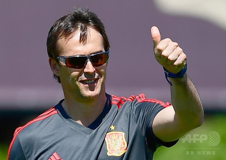 スペイン代表に衝撃、ロペテギ監督がレアル指揮官就任 W杯後から3季