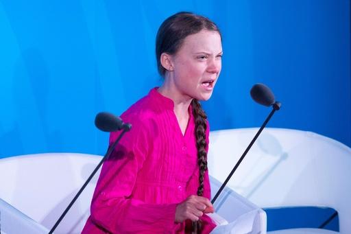 「よくもそんなことを」 トゥンベリさん、国連で怒りの演説