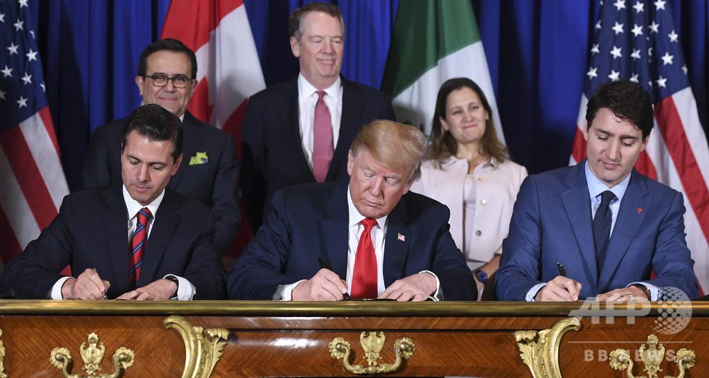 米、カナダとメキシコに対する鉄鋼・アルミ関税撤廃へ