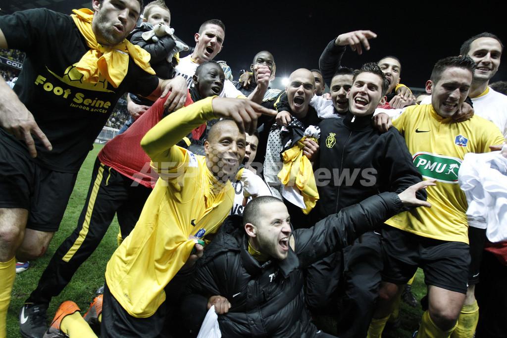 低迷続くマルセイユ、3部チームに敗れフランス杯敗退