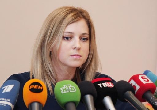 話題のクリミア「美人検事総長」、ロシアが任命認める