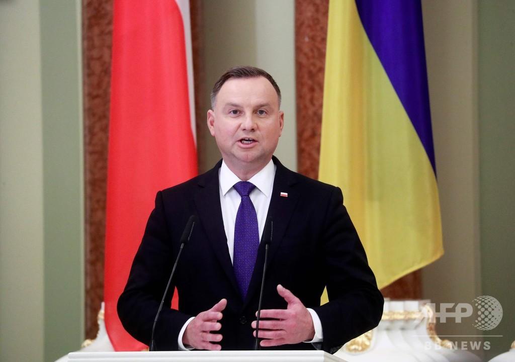 ポーランド大統領、コロナ検査で陽性 国内で感染拡大