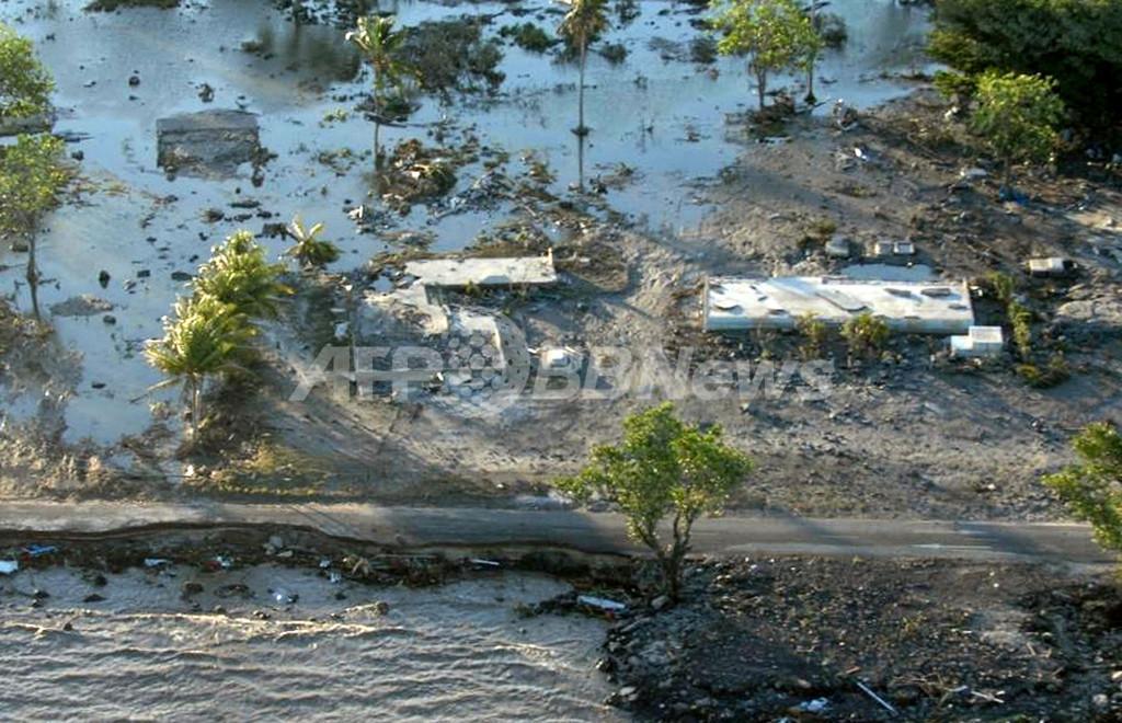 サモア地震、死者150人近くに 海沿いの集落壊滅