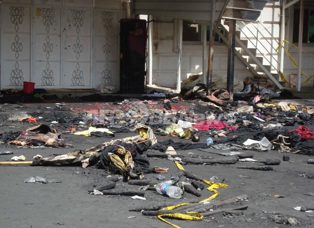 57人死亡の結婚式場火災、放火殺人で妻に死刑判決 クウェート