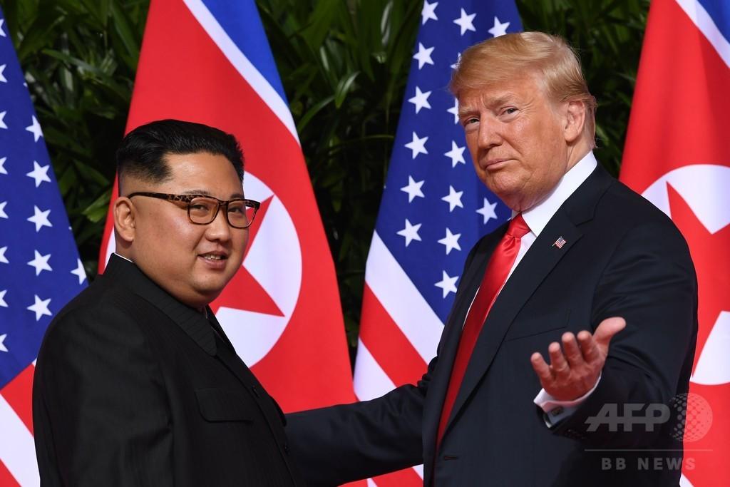 トランプ氏、米韓合同演習の中止表明 国防総省は寝耳に水