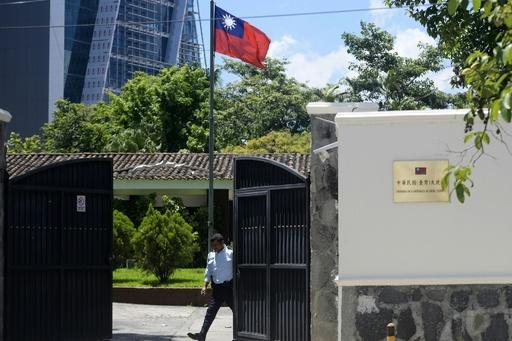 米国、台湾と断交した中米3か国の大使召還 政府首脳部と協議