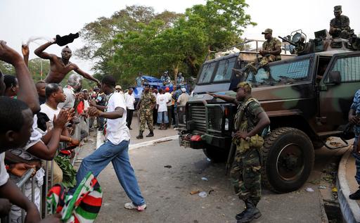 ガーナで大統領選の開票結果めぐり激しい抗議