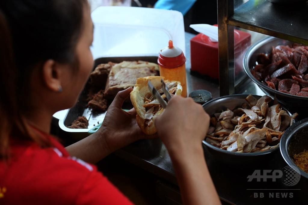 ベトナムのサンドイッチ「バインミー」、本場のバゲットを超える仏植民地時代の遺産