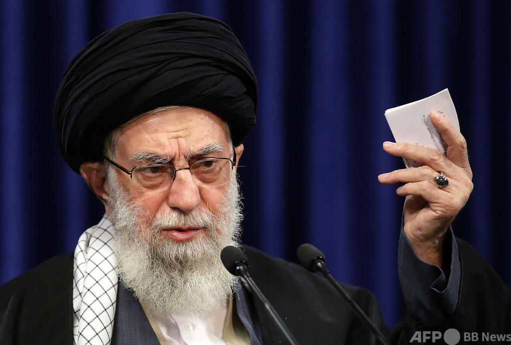 ツイッター、イラン最高指導者の投稿削除 ワクチンの誤情報で